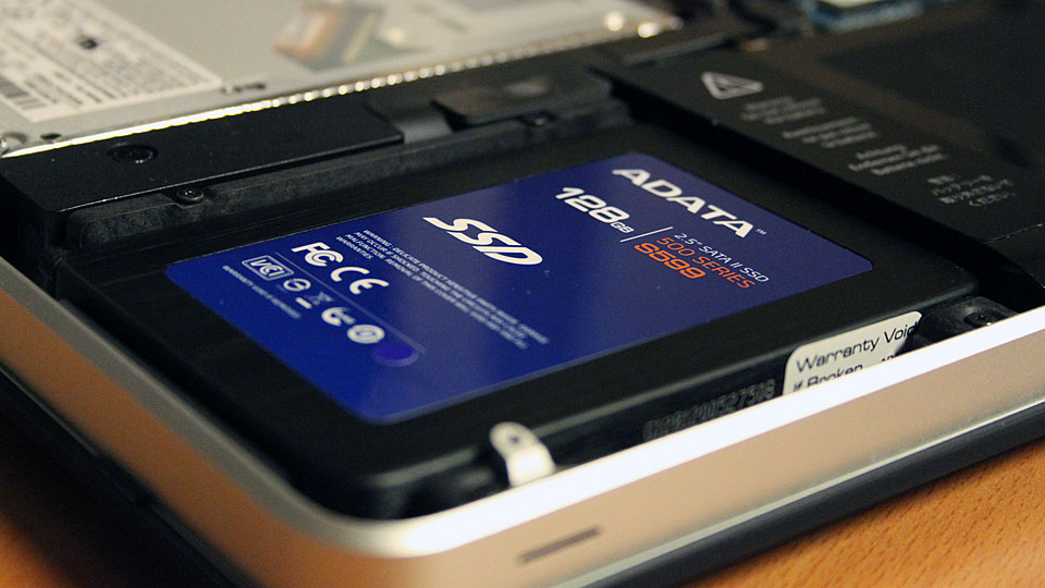 Upgrade a Macbook Hard Drive to an SSD Hard Drive with Existing Files Intact