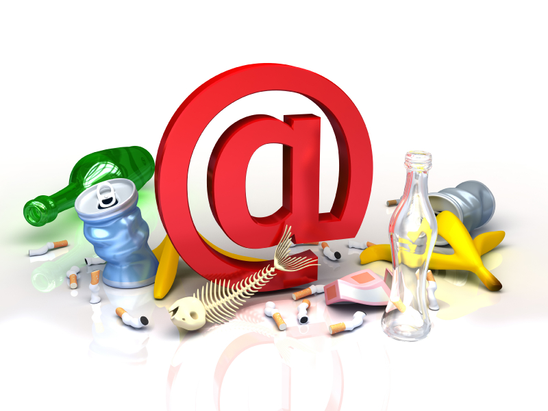 Avoid scams, spam and phishing emails
